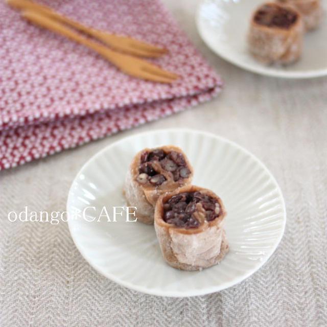 フライパンで簡単和菓子♪くるくるシナモン餅