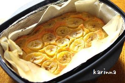 ダッチオーブンdeチョコバナナケーキ