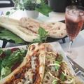 デルソーレ【ブランナン】で《ナンと!蓮根と長葱の味噌バター》
