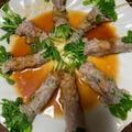 豆苗の豚肉巻きレンチン蒸しと野菜たっぷりポトフ by watakoさん