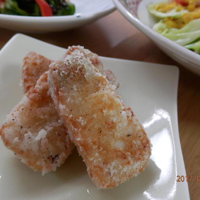 レシピ掲載ありがとうございます♪お弁当に♪ぶりの竜田揚げ生姜風味