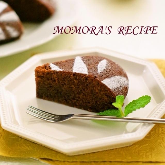 バター・卵不使用♡ホットケーキミックスHMと炊飯器で超簡単お菓子♪しっとり濃厚チョコケーキ♡クリスマスに