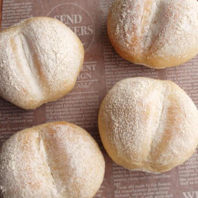 ほわっほわな白パン