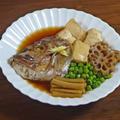 あら!美味しい根野菜と豆腐の鯛かぶと煮