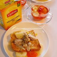 リプトン×レシピブログ=リプトンひらめき朝食♪