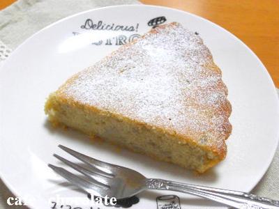 バナナケーキ♪