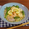 海老と菜の花のさわやか塩レモン焼そば by KOICHIさん