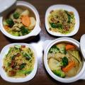【家ごはん】 パスタ2日分 と 楽天レシピ「旬のごはん」特集に掲載中☆ タケノコとひき肉のパスタ