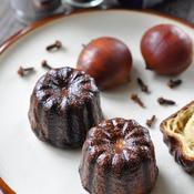 栗のカヌレ バニラ&クローブ風味