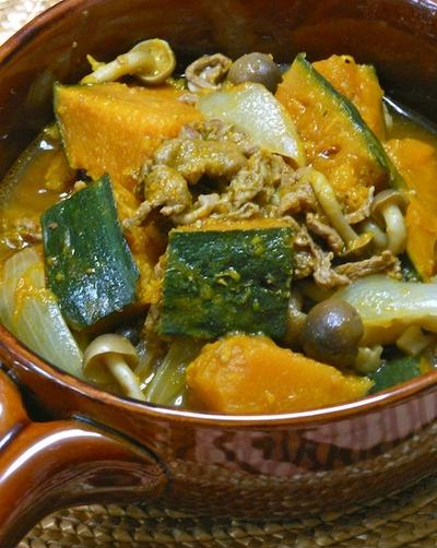 すき焼きのタレで簡単おかず!かぼちゃと牛肉のスパイス煮とくらしのアンテナ掲載の豚丼。