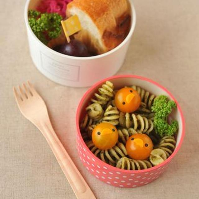 【連載】レシピブログ「雛鳥のパスタ弁当」
