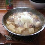 わさび香る!白い麻婆豆腐