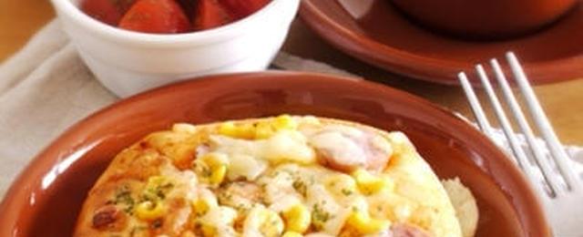 自宅でかんたん!「ピザパン」で笑顔あふれる食卓を♪