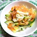 メキシカンソースのサラダ