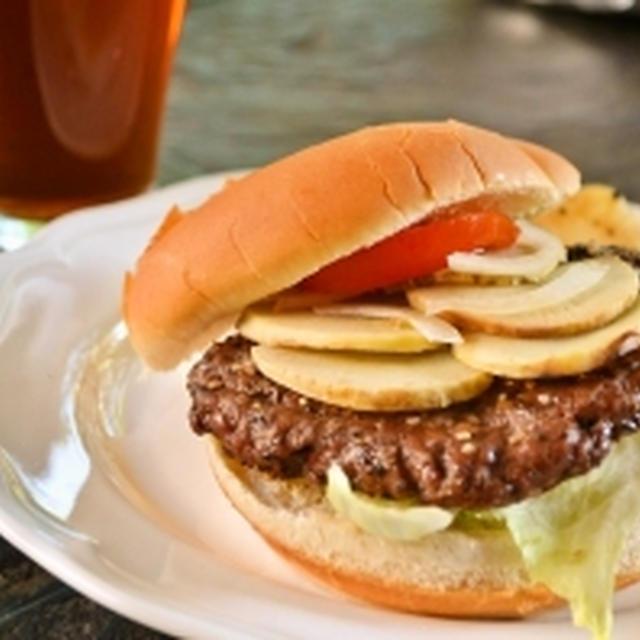 【焼きたけのこバーガー】期間限定バーガー!