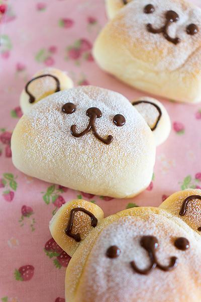 ミルク餅くまくまパン