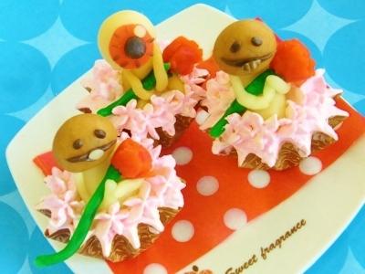 なめことおやじの母の日ミニミニカップケーキ☆色んな応用できる^^