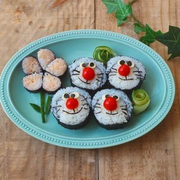 ドラえもん巻き寿司