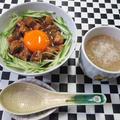 5分もあればできる!本格アジアン缶deマーボー丼&おまけのスープ by masaさん