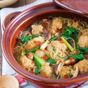 しっかり味でおいしい!豚肉が主役の中華風鍋レシピ