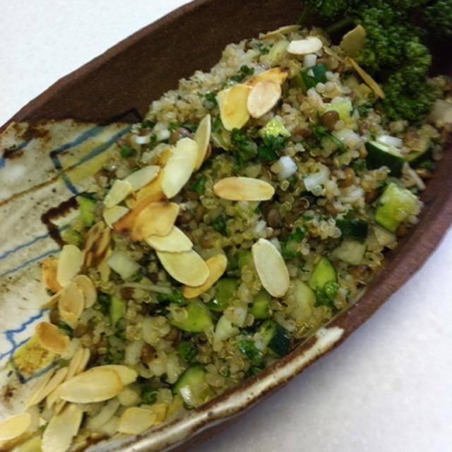 レンズ豆とキヌアのサラダ