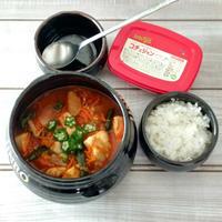 韓国料理 鶏と野菜、コチュジャンでタットリタン♬ bibigoコチュジャン