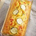 ズッキーニとピザ用チーズで簡単ケークサレ