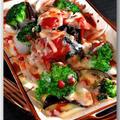 メシ通『魚介を使った簡単レシピ ☆ さばの水煮缶でトマトソースチーズ焼き