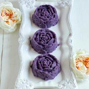 * 焼かない紫芋のスイートポテト♪