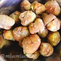 栗の茹で方(圧力鍋)