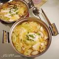 【鍋を愛する1週間】☆焼きあご入りのお出汁香る:味噌煮込みうどん☆ by JUNOさん