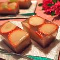 イチゴとキウイのあずきかん by shoko♪さん