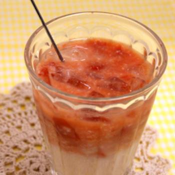 夏バテに★冷たいトマトの糀ドリンク