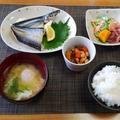 大きめ肉厚の秋刀魚の開きが好きみたい☆塩南瓜♪☆♪☆♪