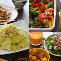 ちょこちょこ作り置き2DAYSと、揚げ玉サラダの晩ごはん。