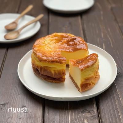 【定番旨おやつ】ベイクドチーズケーキ