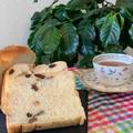 お土産用に小さ目な胡桃・レーズン入り山型食パンを焼きました!!レッスンは手作りうどん
