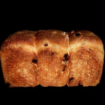 レーズンの山食パン