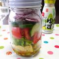 ジャーサラダで手軽に、楽しくたっぷり野菜! by quericoさん
