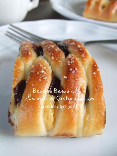 編みパンの作り方