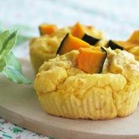 かぼちゃのお豆腐マフィン