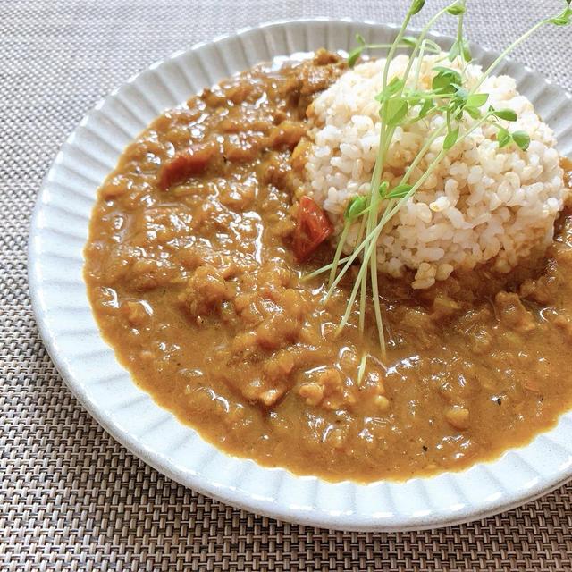 【レシピ】食べる漢方薬。玉ねぎたっぷりスパイスカレー