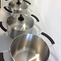 無印良品 ステンレス・アルミ全面三層鋼鍋 安全性が高まり、手頃な値段で手に入れることができます