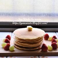 朝活パンケーキ、そして、春の庭の記録