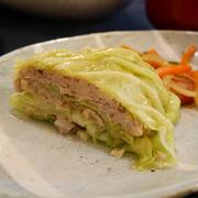 キャベツと豚ひき肉のミルフィーユ