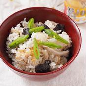 ヒラタケの炊き込みご飯