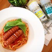 ★お昼ごはん★ハーブミックスで簡単トマトソースパスタ!