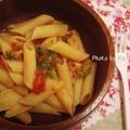 【離乳食】トマトペンネ