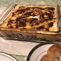 「茄子のミートグラタン」焼き過ぎました。ポロネーゼもベシャメルも、丁寧に作りました。