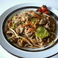 【包丁不要】豚肉と炒めミックス野菜のピリ辛味噌炒め♪